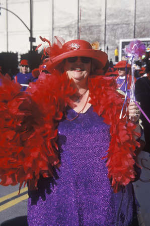 Women in the Doo Dah Parade, Pasadena California