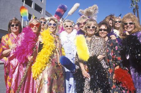 outrageous: Cross dressers at Doo-Dah Parade, Pasadena, California