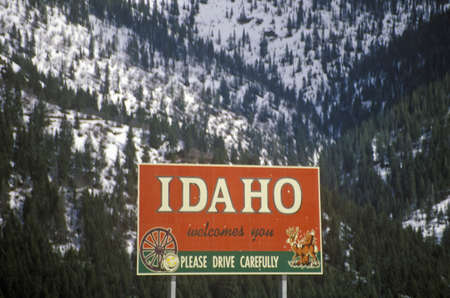 cultural artifacts: Welcome to Idaho Sign Editorial