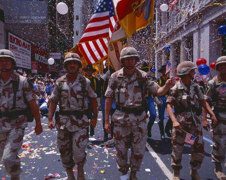desert storm: Desert Storm desfile militar Victory, Washington DC Editorial