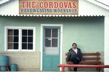 Craftsman workshop on the High Road to Taos, NM