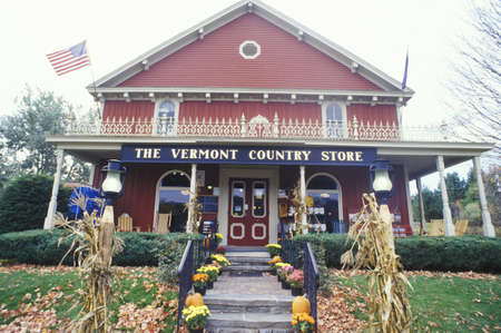 country store:  VT Country store Editorial