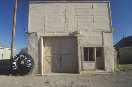 A Small-town tire store, Magdalena, NM