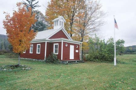 schoolhouse: Historical one room schoolhouse, NY