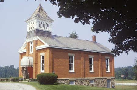 schoolhouse: One room schoolhouse, OH