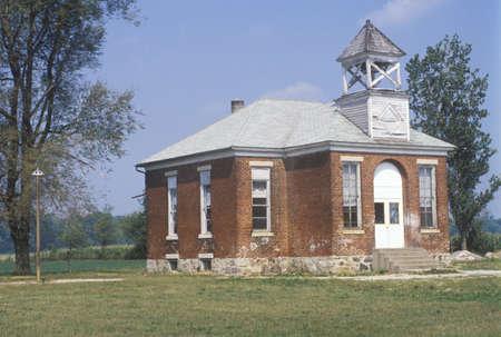 schoolhouse: One room schoolhouse, IN