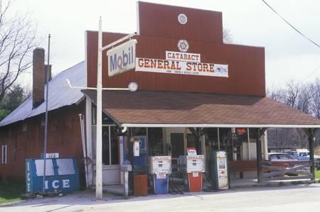 cataract falls: General store, Cataract Falls, IN