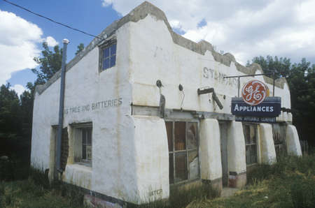 nm: An abandoned appliance store, NM Editorial