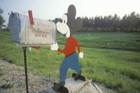 mickey: Mickey Mouse mailbox, FL