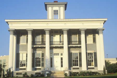 architectural style: Classic Old South architectural style mansion, Montgomery, AL