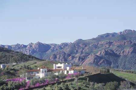 malibu: Estate in Malibu Canyon, CA Editorial