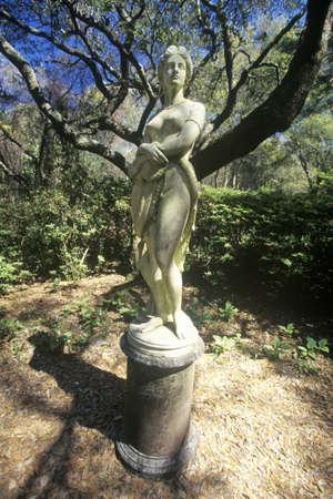 osare: La Statua Dare Virginia al elisabettiano Gardens, Roanoke Island, Carolina del Nord