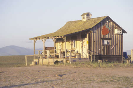 Old wooden house, Central CA