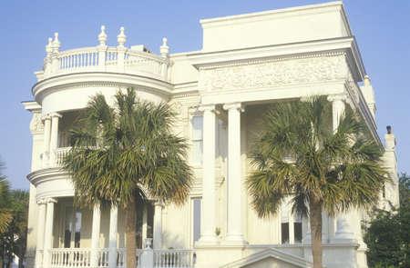 the eighteenth: Eighteenth century town house, Charleston, SC