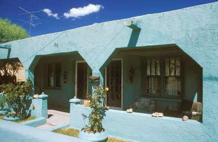 duplex: Turquoise duplex, Socorro, NM
