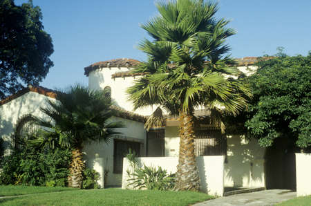 beverly hills: Southern CA estate, Beverly Hills, CA Editorial