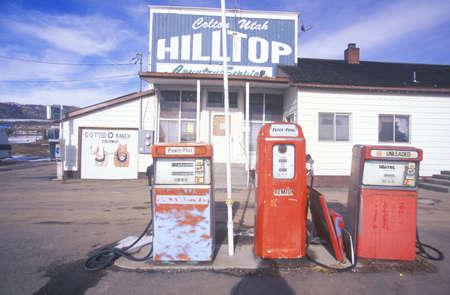 ut: Rural gas station, UT