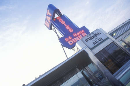 advertise with us: Always open retro style diner, Groton, CT Editorial