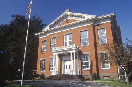 Brick town hall, Great Barrington, MA