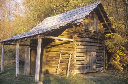 tn: TN cabin in autumn colors