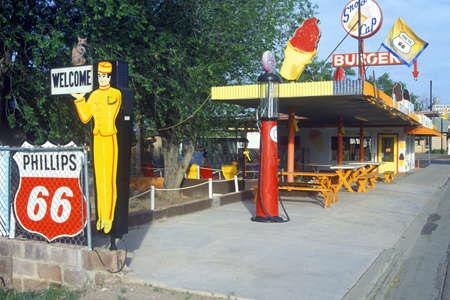 Roadside attraction on Route 66, AZ