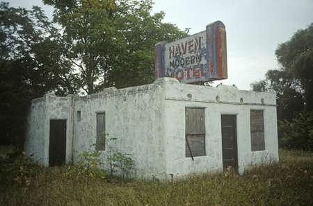 Deserted Motel, WI
