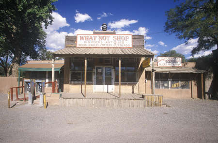 nm: Western Store front, Cerillos, NM