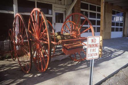 Antique fire equipment Editorial