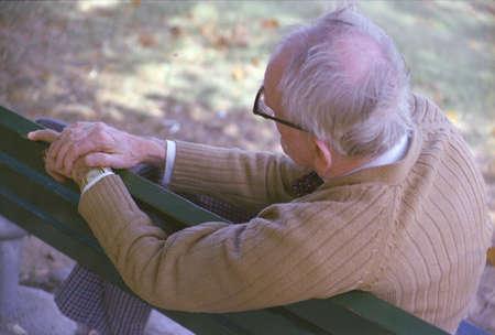 joe louis: Frank Geiger, a senior citizen and grandfather of photographer Joe Sohm, rocks on rocking horse in St. Louis MO
