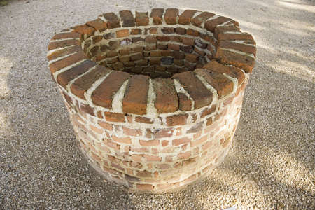 cultural artifacts: Military fortification at James Fort, Jamestown, Virginia, the site of the first permanent English colony in America, 1607.