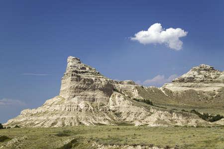 bluff: Scotts Bluff National Monument, a site on the Oregon Trail, Scottsbluff, Nebraska