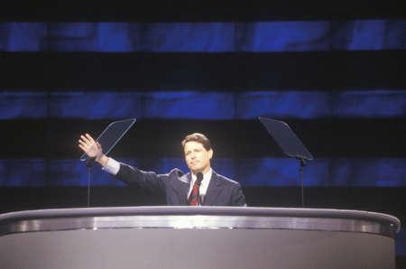 Senator Al Gore's speech at the 1992 Democratic National Convention at Madison Square Garden