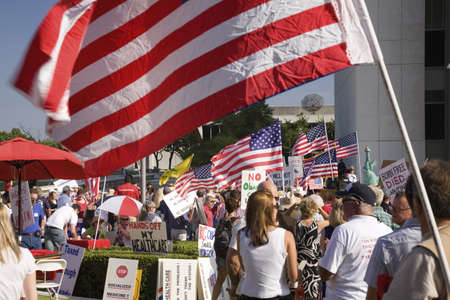 9-12 Rally and Tea Party, September 12, 2009 at the Federal Building, Los Angeles, CA