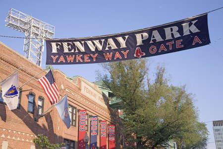 Storico Fenway Park, Boston Red Sox, Boston, MA., USA, 20 maggio 2010, Red Sox contro Minnesota Twins, presenze, 38.144, Red Sox vincere 6-2 Archivio Fotografico - 23058898