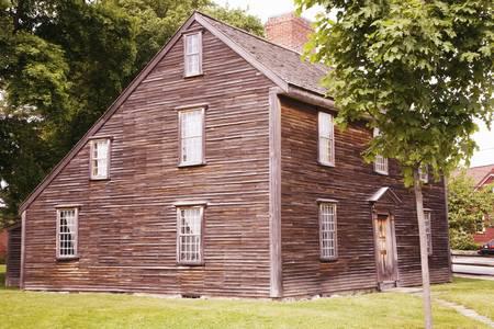 adams: Birthplace of John Adams, the 2nd President and Revolutionary War hero, Adams National Historical Park, Braintree, Quincy, Ma., USA