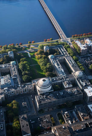 Aerials of MIT of Boston and New England photo