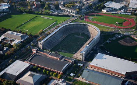 harvard university: Harvard Stadium in Harvard University, Cambridge, Massachusetts
