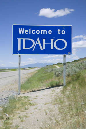 Welcome to Idaho State Sign