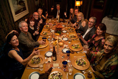 relatives: A dinner gathering