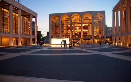 Lincoln Center, Manhattan, New York City - June 07, 2012 - Lincoln Center for the Performing Arts