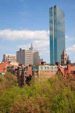 hancock building: John Hancock Tower in Back Bay, Boston, Massachusetts