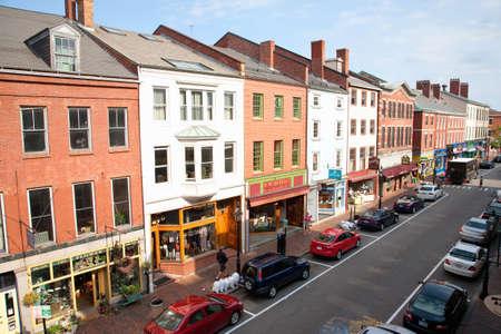 Shops on Market Street, Portsmouth, New Hampshire