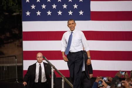 2012 년 민주당 후보 대선 후보, 버락 오바마 상원 의원, 대통령 캠페인 랠리에서