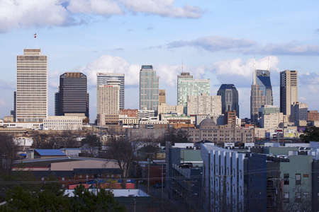 utopian: Skyline of Nashville, Tennessee
