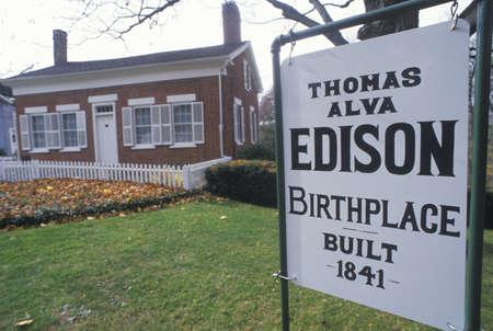 edison: Birthplace of Thomas Edison Museum, Milan, OH