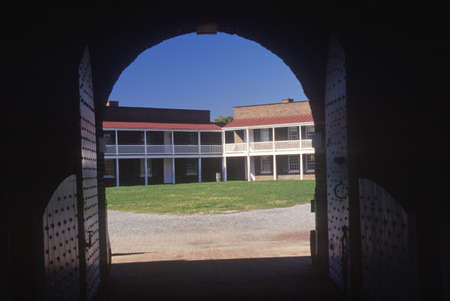 md: Interior of courtyard of Fort McHenry National Monument in Baltimore, MD Editorial