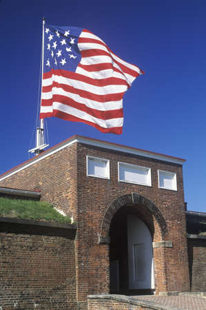 md: Fort McHenry National Monument in Baltimore, MD Editorial