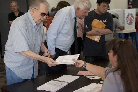2012 년 대통령 선거 중 벤츄라 카운티, 캘리포니아에서 투표