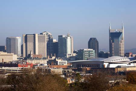utopian: Skyline of Nashville, TN