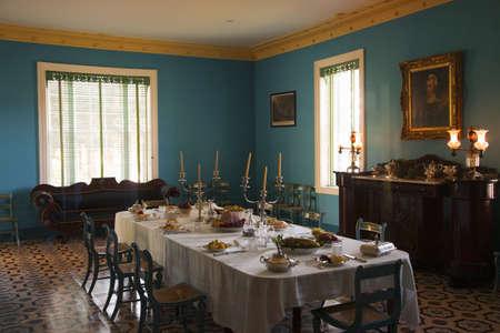 president???s: Vista interna di The Hermitage, presidente Andrew Jackson s palazzo a Nashville, TN